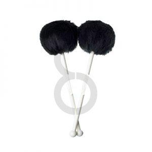 Andante Quantum Tenor Drum Mallets (Black)