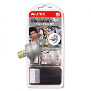 Alpine MusicSafe Pro Earplugs (Silver)