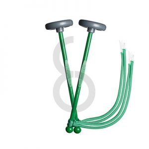TyFry Ultimate Practice Tenor Drum Mallets (Green)