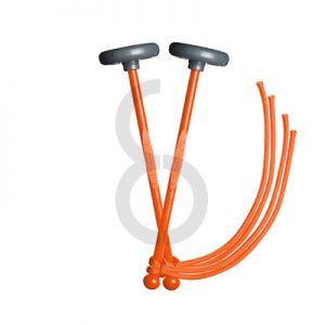 TyFry Ultimate Practice Tenor Drum Mallets (Orange)