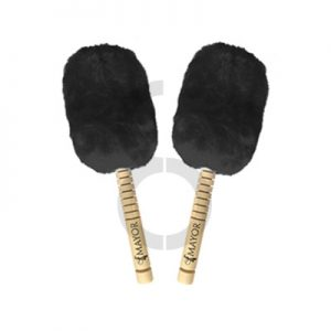 Mayor Bass Drum Mallets (Black)