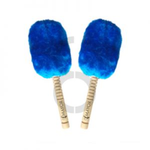 Mayor Bass Drum Mallets (Blue)