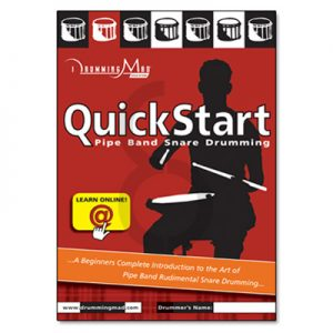 QuickStart Pipe Band Snare Drumming