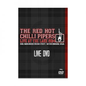 Red Hot Chilli Pipers - Live at the Lake 2014 DVD