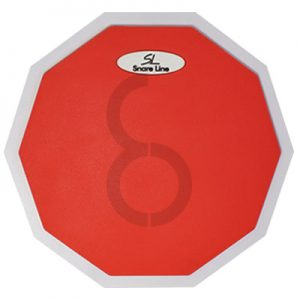 Snare Line Solo Practice Pad (Red)