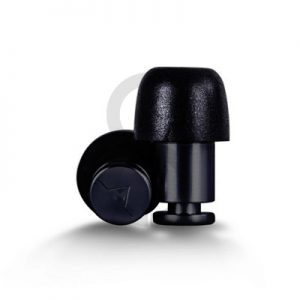 Flare ISOLATE Aluminium Earplugs (Black)