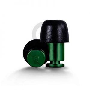 Flare ISOLATE Aluminium Earplugs (Green)