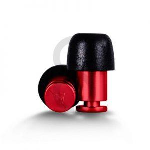 Flare ISOLATE Aluminium Earplugs (Red)