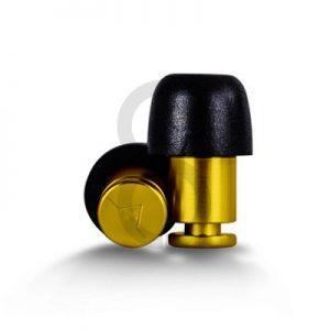Flare ISOLATE Aluminium Earplugs (Yellow)