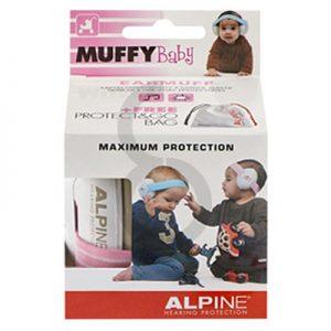 Alpine Muffy Baby Earmuffs (Pink)