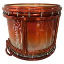 Andante Next Generation Reactor Snare Drum (Orange Silver Sparkle Fade/Orange Chrome)