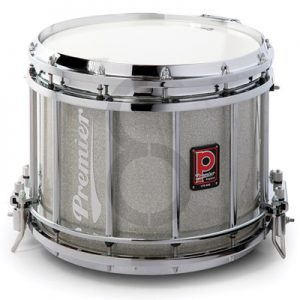 Premier HTS 800 Snare Drum (Silver Sparkle Lacquer/Diamond Chrome)