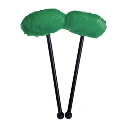 acoustIQ Grand Slam Tenor Drum Mallets (Emerald Green)