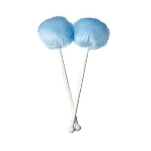 Andante Quantum Tenor Drum Mallets (Baby Blue)