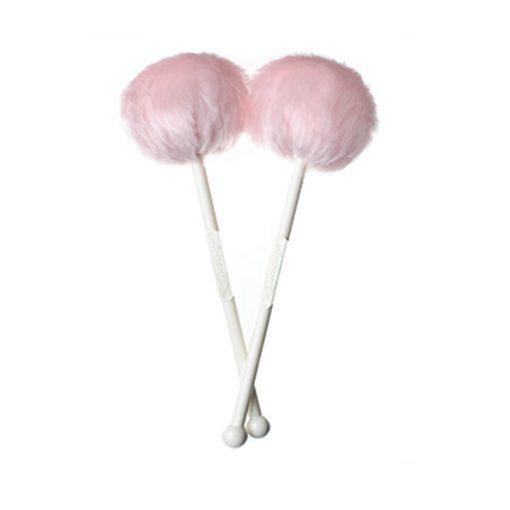 Andante Quantum Tenor Drum Mallets (Baby Pink)