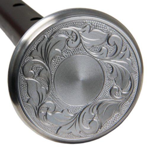 Victorian design hand-engraved high-grade Aluminium mounts