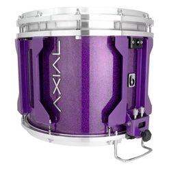 British Drum Co AXIAL Snare Drum (Cosmic Purple Sparkle)