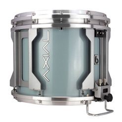 British Drum Co AXIAL Snare Drum (Skye Blue Exo-Tone)