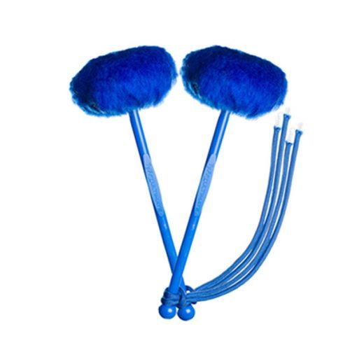 myTyFry Ultimate Custom Tenor Drum Mallets (Royal Blue/Blue/Royal Blue)