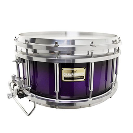 Pearl Medalist Lite Pipe Band Series Snare Drum (Purple Sparkle Burst)