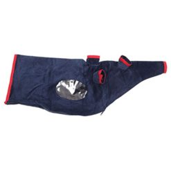 Piper Weather Resistant Corduroy Bag Cover (Navy Blue)