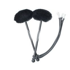 TyFry Ultimate Tenor Drum Mallets (Black)