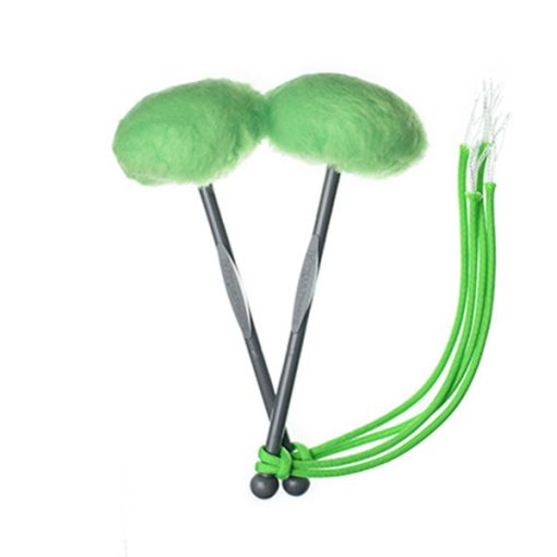 TyFry Ultimate Tenor Drum Mallets (Lime Green)