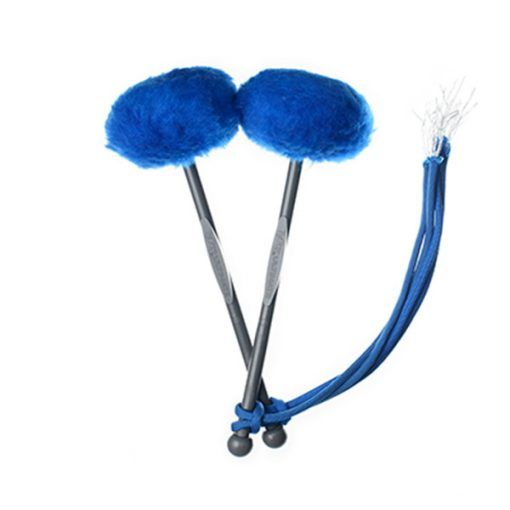 TyFry Ultimate Tenor Drum Mallets (Royal Blue)