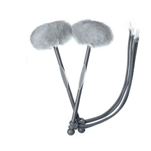 TyFry Ultimate Tenor Drum Mallets (Silver)