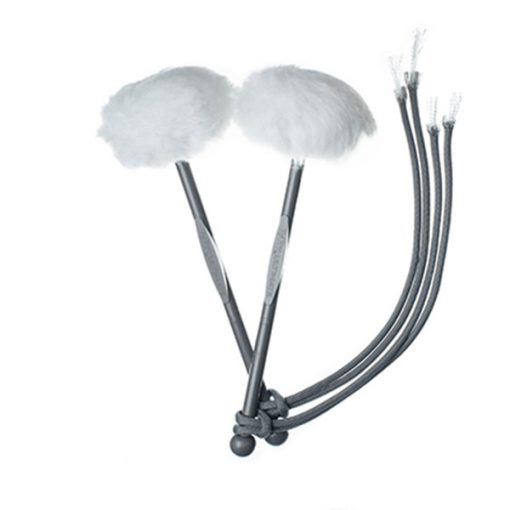 TyFry Ultimate Tenor Drum Mallets (White)