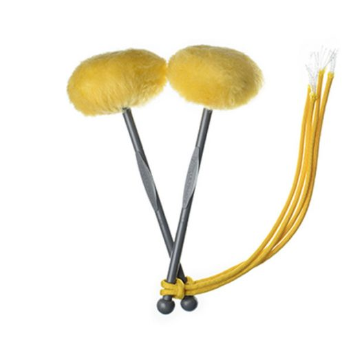 TyFry Ultimate Tenor Drum Mallets (Yellow)