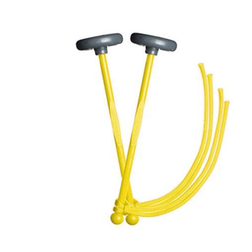 TyFry Ultimate Practice Tenor Drum Mallets (Yellow)