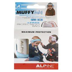 Alpine Muffy Baby Earmuffs (Blue)