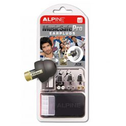 Alpine MusicSafe Pro Earplugs (Black)