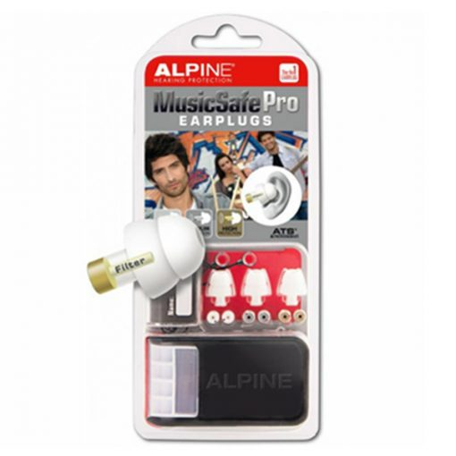 Alpine MusicSafe Pro Earplugs (White)
