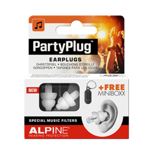Alpine PartyPlug Earplugs (White)