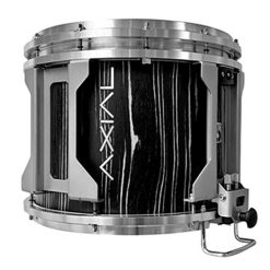 British Drum Co AXIAL Snare Drum (Black Tulip)