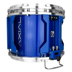 British Drum Co AXIAL Snare Drum (Cosmic Blue Sparkle)