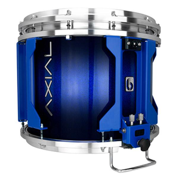 British Drum Co AXIAL Snare Drum (Cosmic Blue Sparkle Burst)
