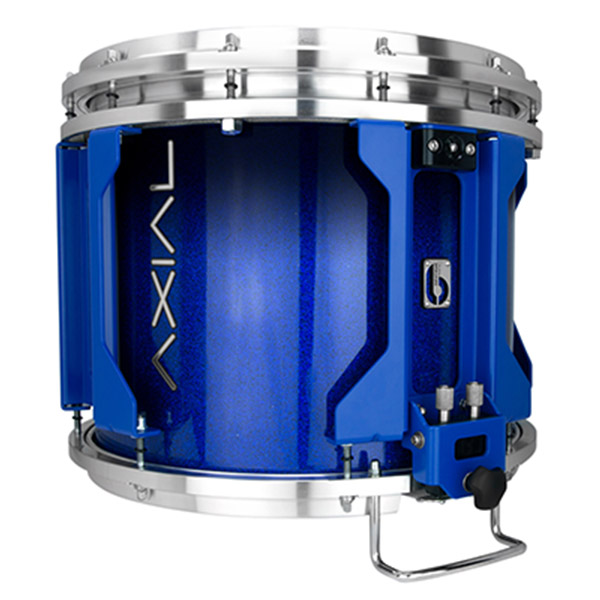 British Drum Co AXIAL Snare Drum (Cosmic Blue Sparkle Fade)