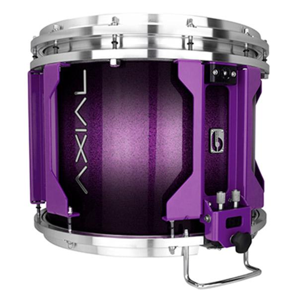 British Drum Co AXIAL Snare Drum (Cosmic Purple Sparkle Burst)