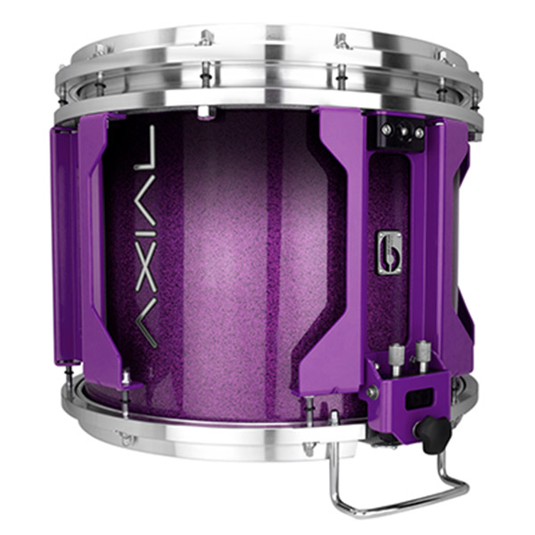 British Drum Co AXIAL Snare Drum (Cosmic Purple Sparkle Fade)