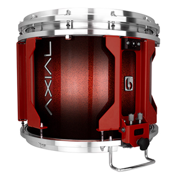 British Drum Co AXIAL Snare Drum (Cosmic Red Sparkle Burst)