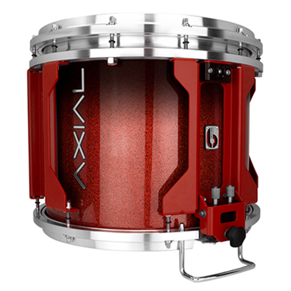 British Drum Co AXIAL Snare Drum (Cosmic Red Sparkle Fade)