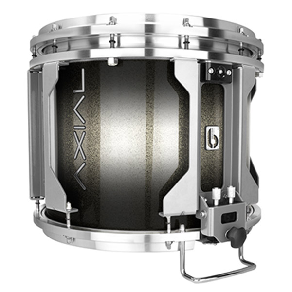 British Drum Co AXIAL Snare Drum (Cosmic Silver Sparkle Burst)