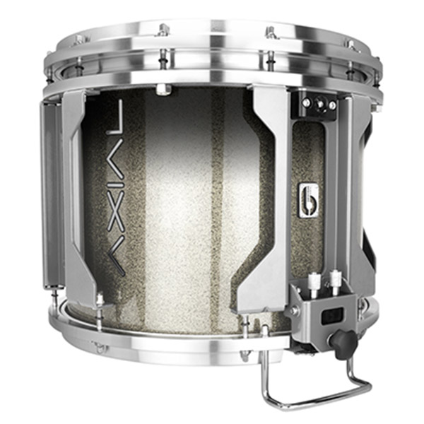 British Drum Co AXIAL Snare Drum (Cosmic Silver Sparkle Fade)