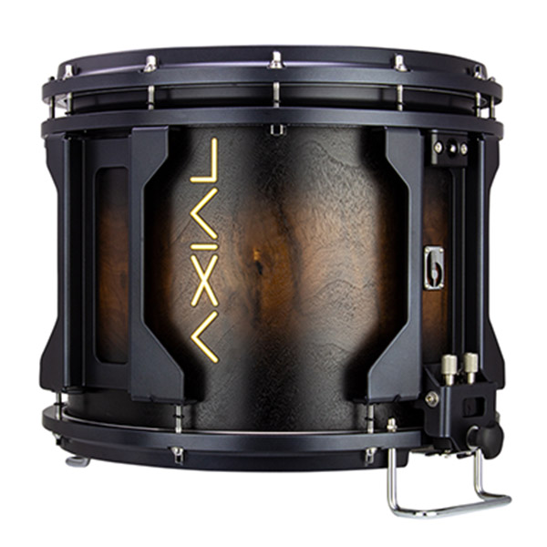 British Drum Co AXIAL Snare Drum (Smoked Walnut)