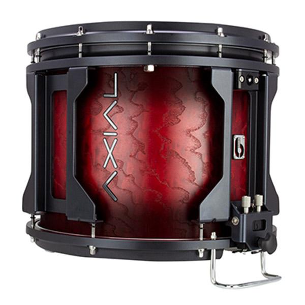 British Drum Co AXIAL Snare Drum (Tamo Scarlett Burst)