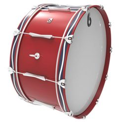British Drum Co Regimental Series Bass Drum