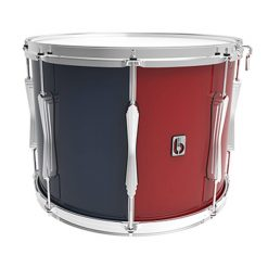 British Drum Co Regimental Series Tenor Drum